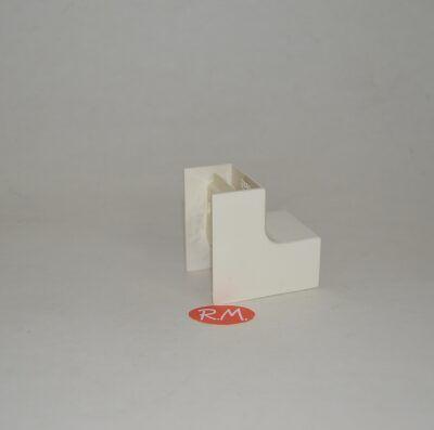 Angulo interior canaleta Unex 20 x 30 mm marfil