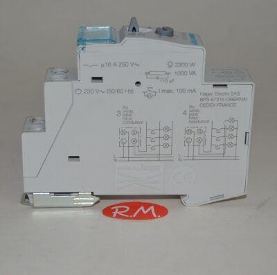 Minutero automático escalera Hager EMN001