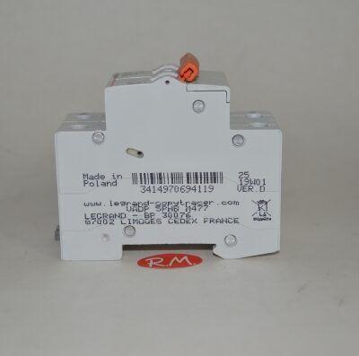 Interruptor magnetotérmico Legrand 1P+N 20A curva C
