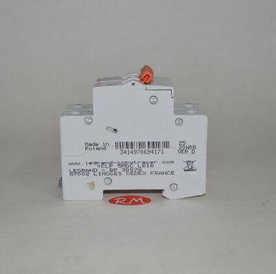 Interruptor magnetotérmico Legrand 1P+N 32A curva C