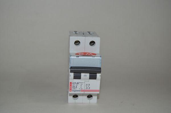 Interruptor magnetotérmico Legrand ICP-M 20A