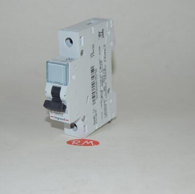 Interruptor magnetotérmico Legrand 1P 10A curva C