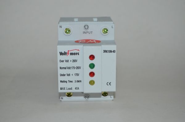 Protector sobretensión monofásico 3RK15N 40A