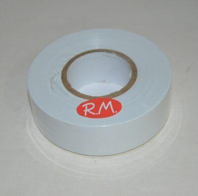 Cinta adhesiva aislante PVC blanca 33 x 25 mm