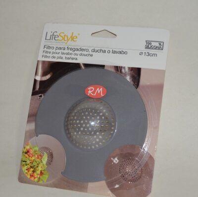 Filtro silicona fregadero universal Ø 113 mm