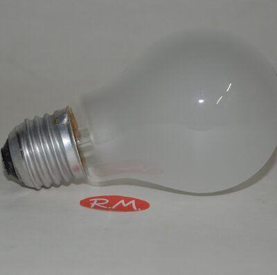 Bombilla incandescente standard mate E27 40W