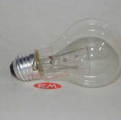 Bombilla incandescente standard clara E27 40W