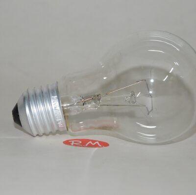 Bombilla incandescente standard clara E27 60W