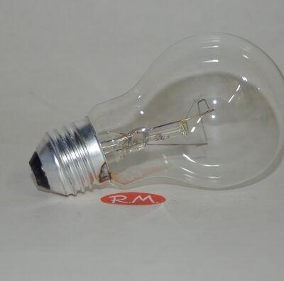 Bombilla incandescente standard clara E27 100W
