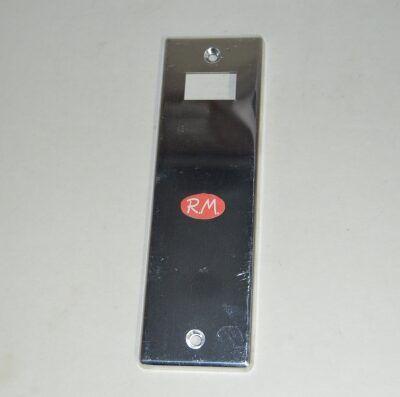 Placa recogedor persiana 200 x 61 mm Aluminio