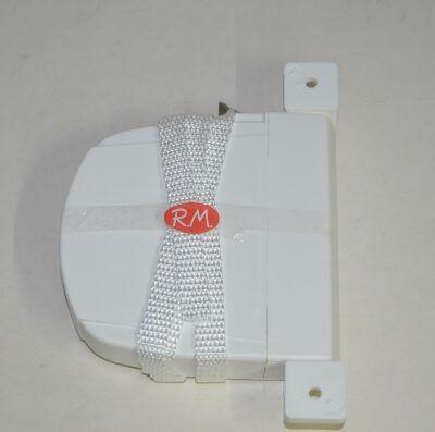 Recogedor persiana abatible blanco cinta 14 mm