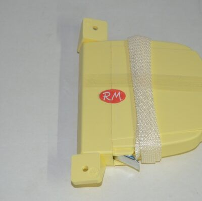 Recogedor persiana abatible marfil cinta 14 mm