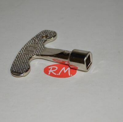 Llave armario puerta contador cuadrada H-8 mm