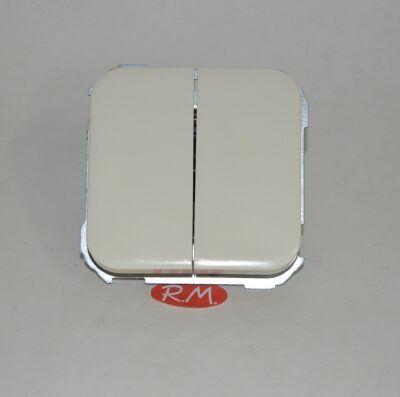 Doble interruptor Simón 31 31398-31 marfil