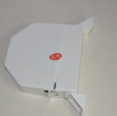 Recogedor persiana abatible blanco sin cinta