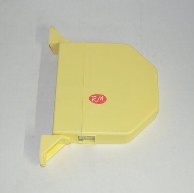 Recogedor persiana abatible marfil sin cinta