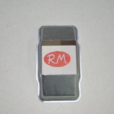 Carcasa guía cinta persiana plata