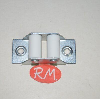 Guía cinta persiana rodillo plástico 50 x 21 mm