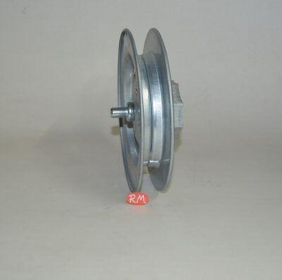 Disco metal persiana 180 mm eje 60 mm