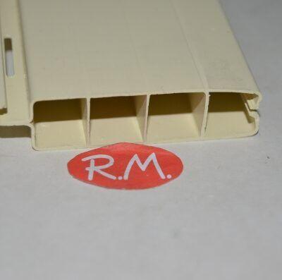 Lama persiana pvc 200 cm x 50 mm marfil