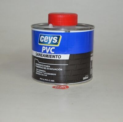 Ceys cola PVC saneamiento 500ml 900110