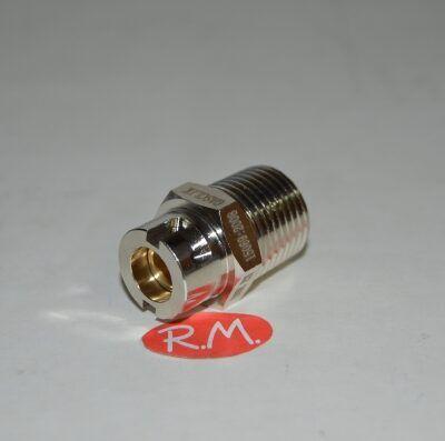 Válvula seguridad espirometálico Gas click