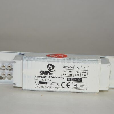 Reactancia para tubo fluorescente 58 / 65 w