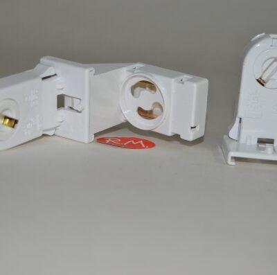 Portafluorescente + portacebador G13
