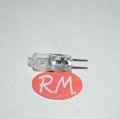 Bombilla halógena bipin G4 12V 10W