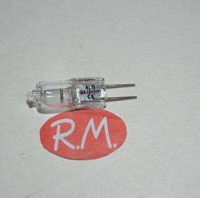 Bombilla halógena bipin G4 12V 20W