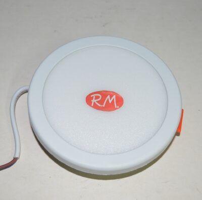 Downlight led ajustable redondo blanco 6W 2700K