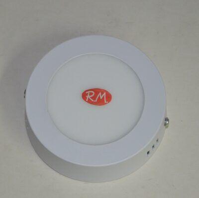 Downlight led superfície redondo blanco 6W 6000K