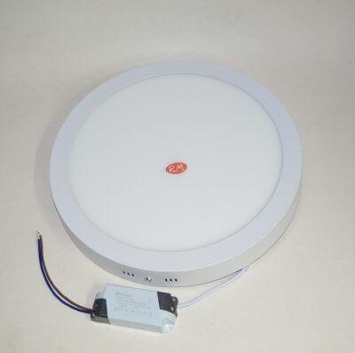 Downlight led superfície redondo blanco 24W 6000K