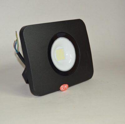 Proyector led plano negro 50W 6400K