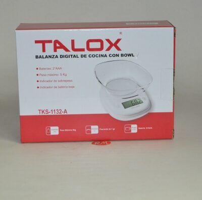 Balanza de cocina electrónica Talox hasta 5 kg