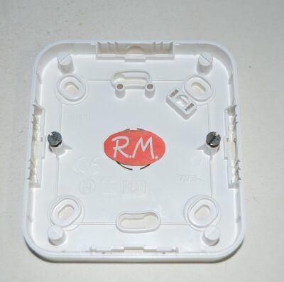 Caja de superficie para 1 elemento Simón 73 73750-30 blanco