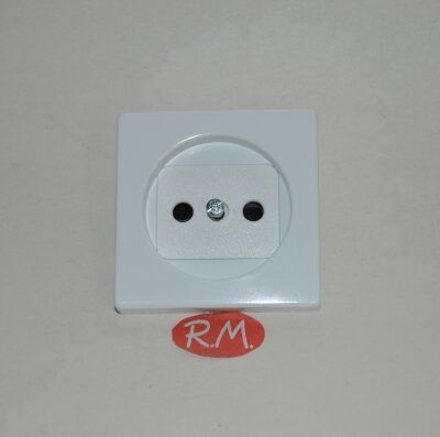 Tapa Base Simon 82 82040-30 blanco