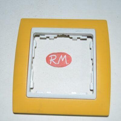 Marco 1 elemento Simon 82 82612-62 amarillo