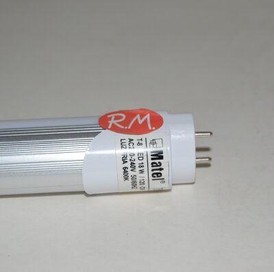 Tubo fluorescente led directo T8 18W 6500K