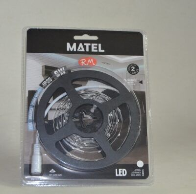Kit tira led 12V 3 metros 6W 6400K