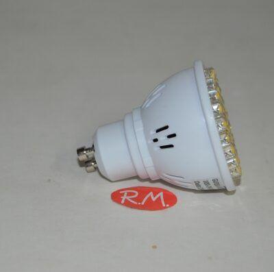 Bombilla led dicroica GU10 220V 4W 3000K