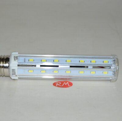 Bombilla led tubular E27 12W 6400K