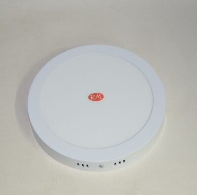 Downlight led superficie redondo blanco 18W 6400K