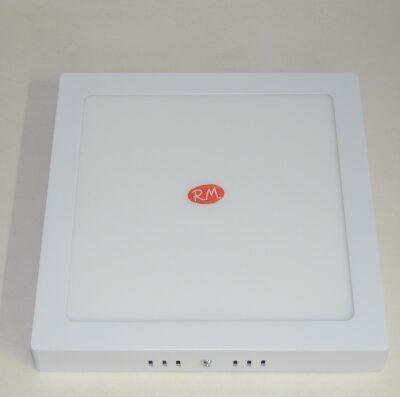 Downlight led superficie cuadrado blanco 18W 6400K