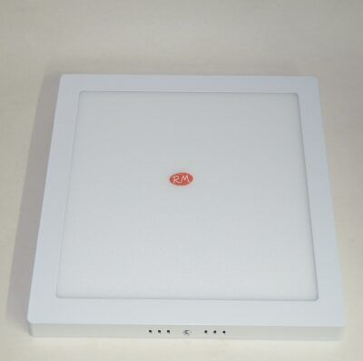 Downlight led superficie cuadrado blanco 24W 6400K