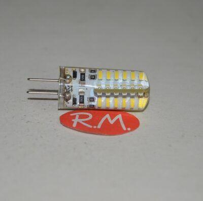 Bombilla led silicona G4 3W 12V 6400K
