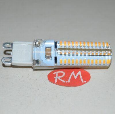 Bombilla led silicona G9 5W 220V 2700K