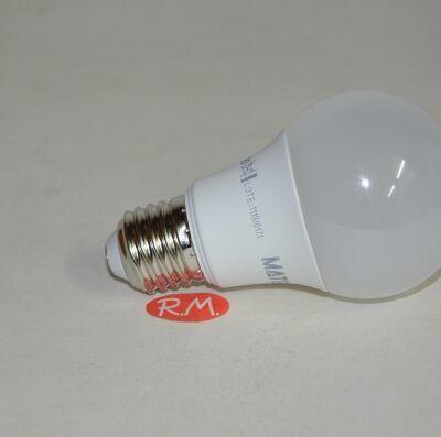 Bombilla led standard E27 10W 6400K