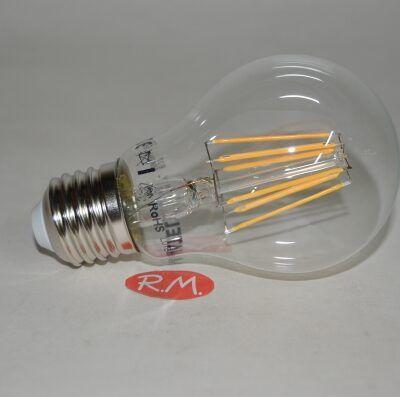 Bombilla led standar filamento E27 8W 2700K