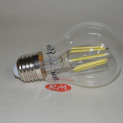 Bombilla led standar filamento E27 7W 6400K